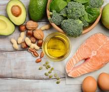 الأغذية التي تحتوي على<br> أوميغا 3