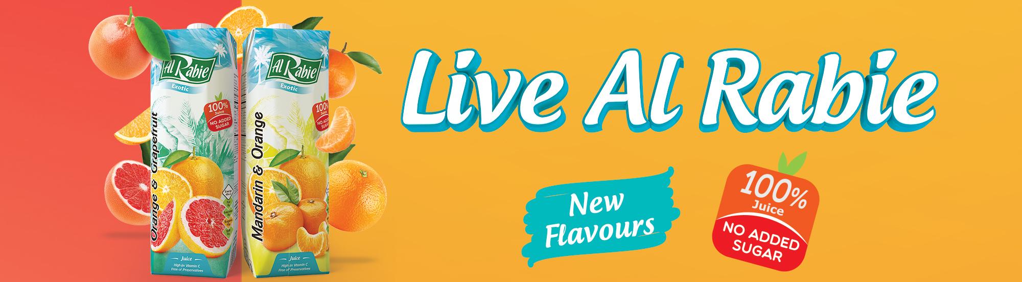 Exotic Citrus New Flavours