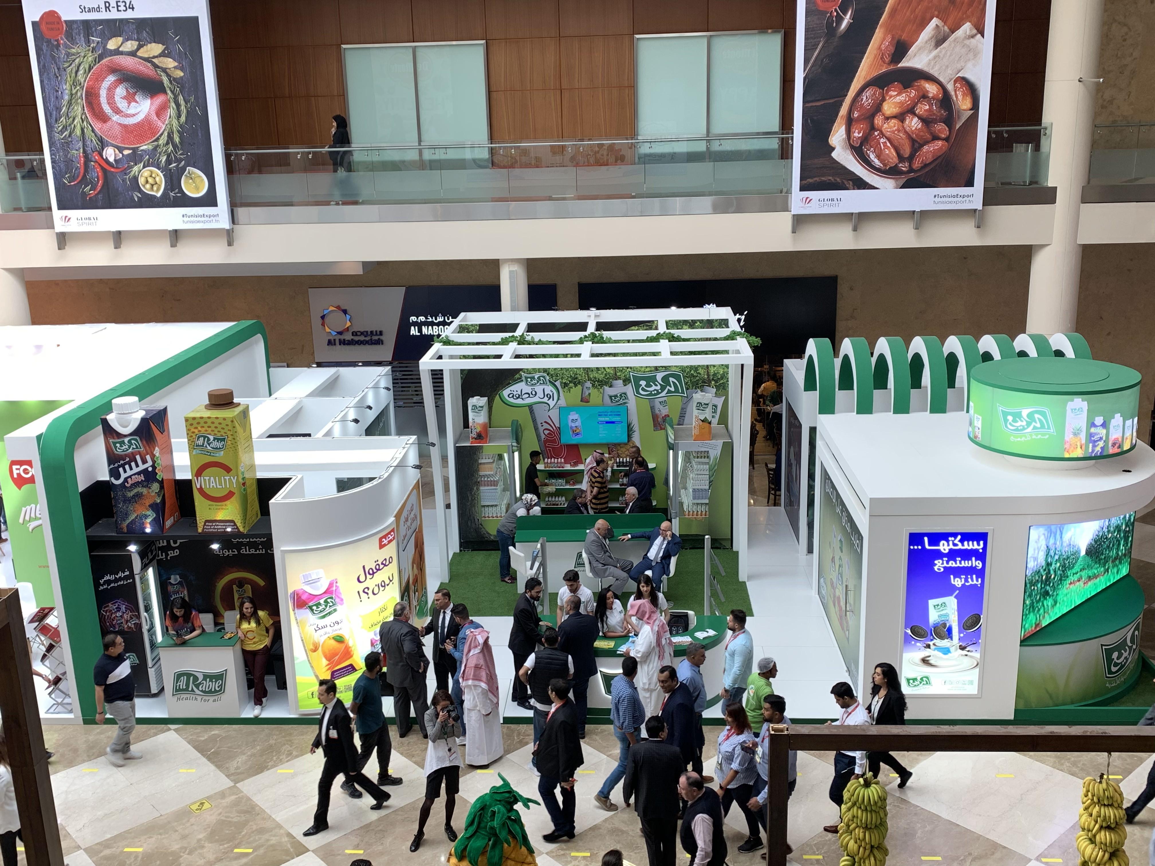 مشاركة شركة الربيع السعودية للأغذية في معرض جولفود 2019