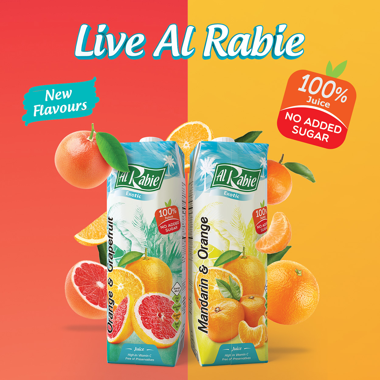 Discover the Great Taste of the New Citrus Flavours
