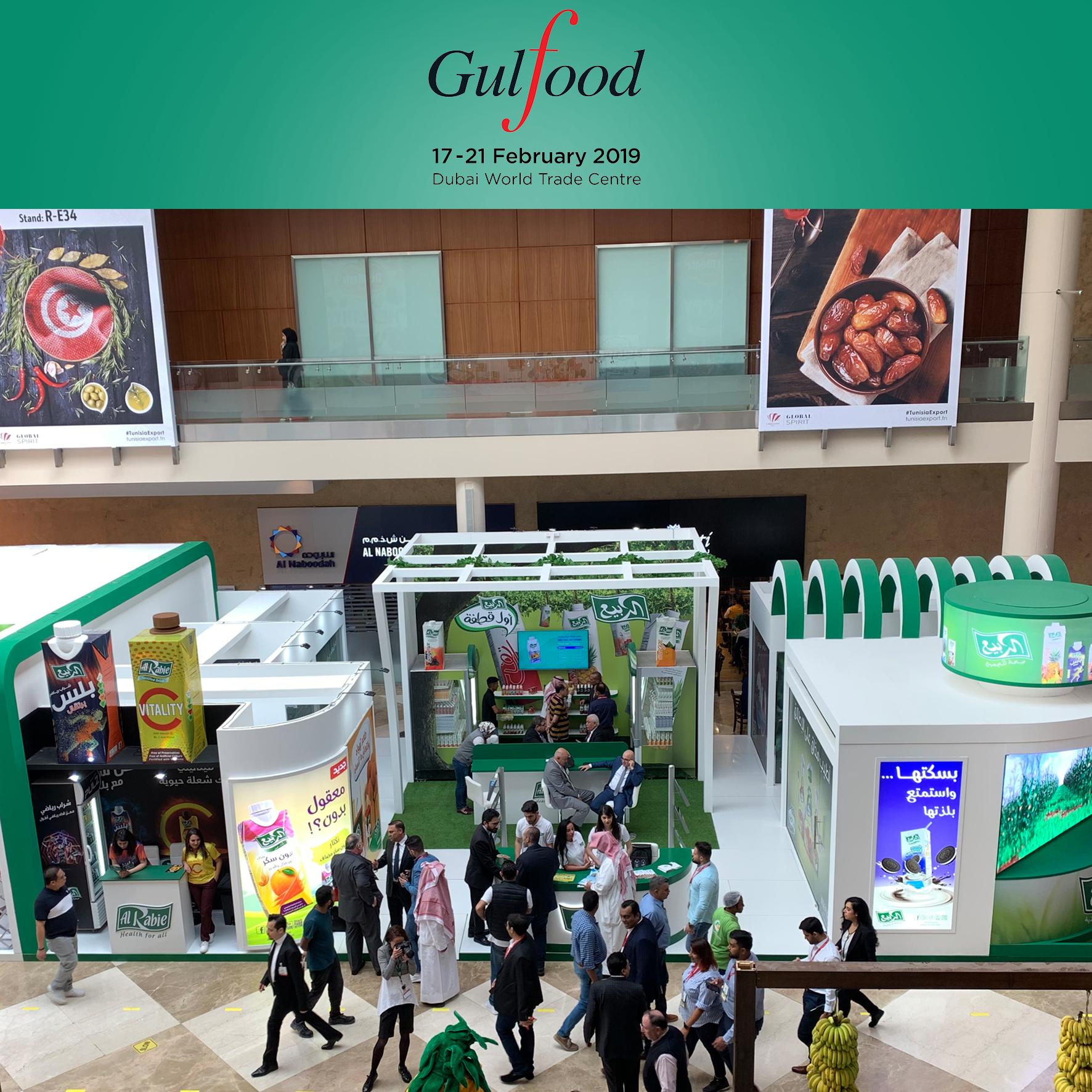 Al Rabie Saudi Foods Co. at GulFood 2019