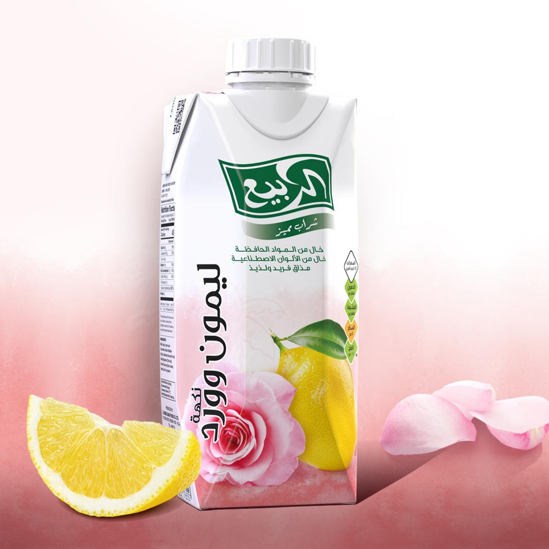تذوّق طعم الانتعاش مع الليمون ونكهة الورد