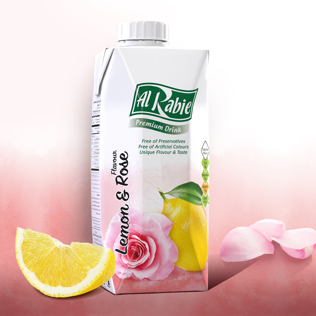 The Refreshing Taste of Lemon & Rose