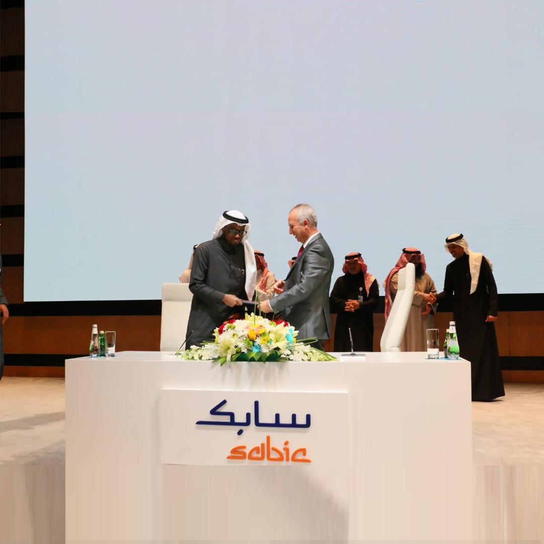 توقيع اتفاقية تأهيل الكفاءات الوطنية ورفع نسبة تمكين المرأة بين شركة الربيع السعودية للأغذية وشركة سابك
