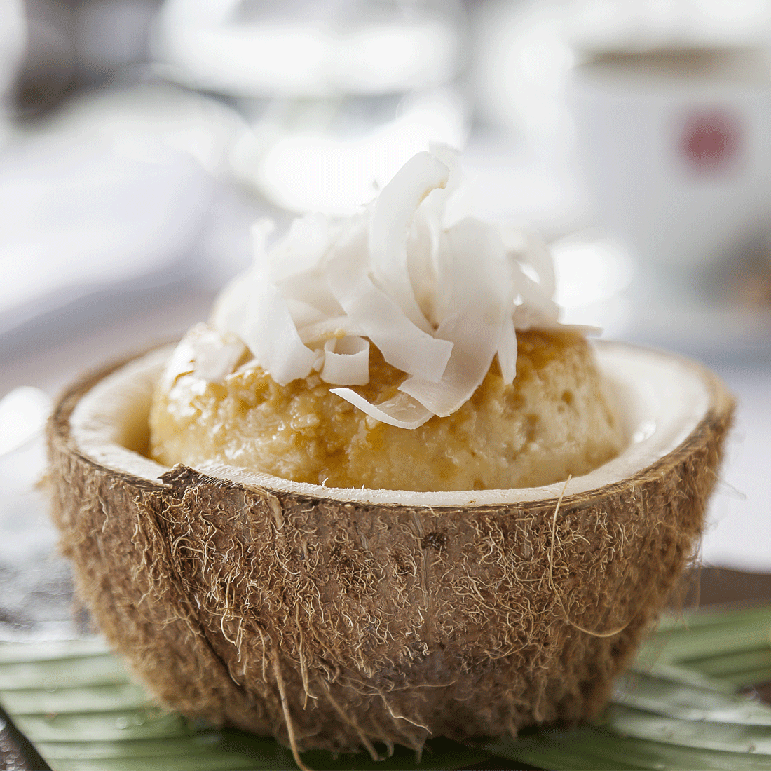 Coconut Parfait with Al Rabie Pineapple Juice